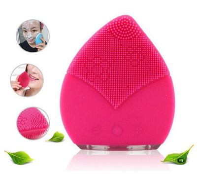 PEACH SHAPED SILICONE WASH BRUSH TIP