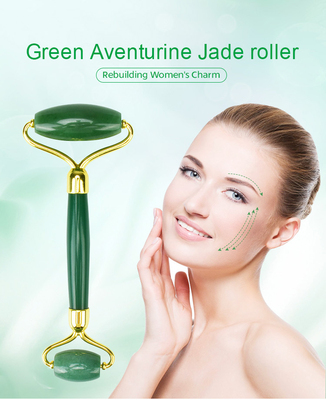 Health care Natural Green Aventurine Jade Face Roller
